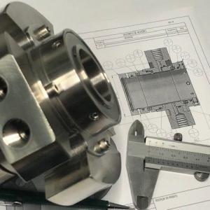 Selo mecanico para reator